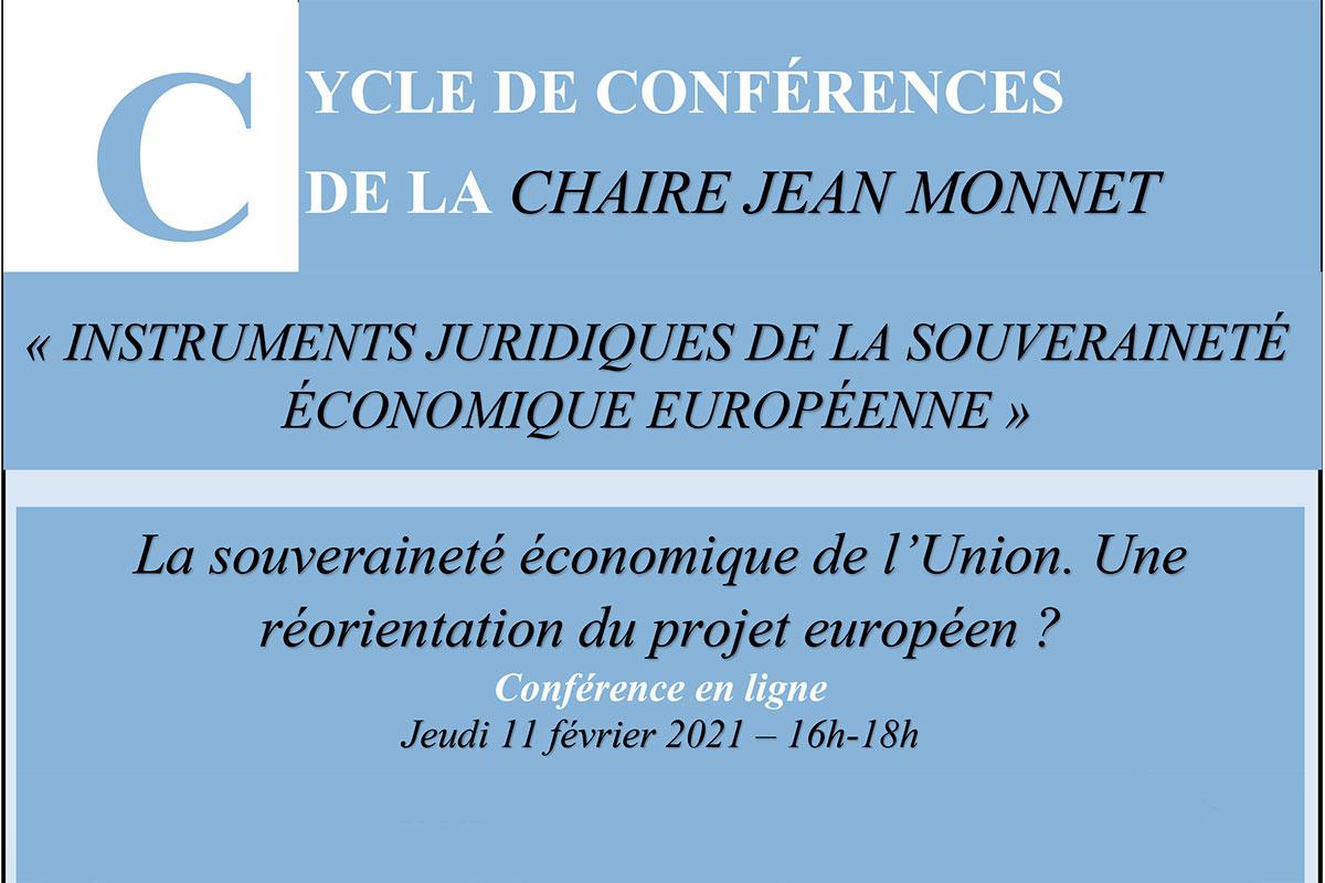 Conférence Chaire Jean Monnet