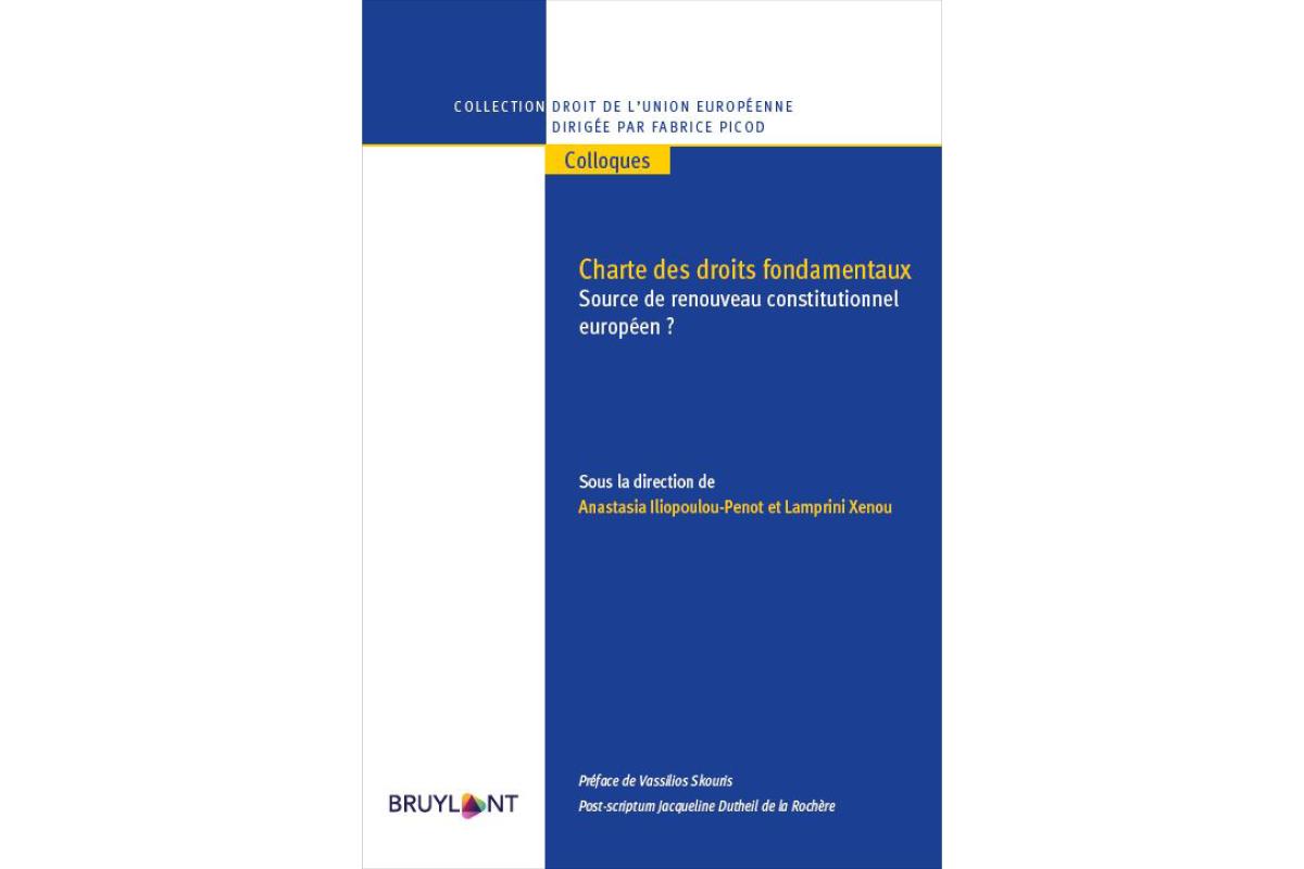 La charte des droits fondamentaux, source de renouveau constitutionnel européen ?