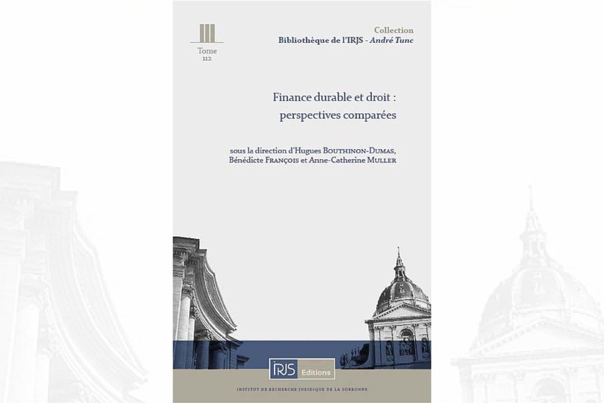 Finance durable et droit : perspectives comparées