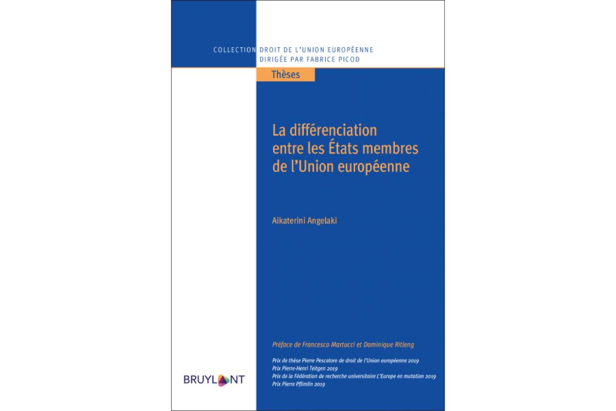 La différenciation entre les États membres de l'Union européenne